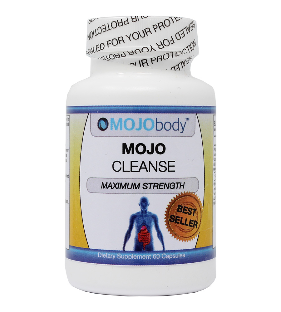 MOJOcleanse Maximum Strength Cleanse, ​Reduces bloating, Eliminates Sensitive Gut, Promotes Weight Loss, Clears Your Skin, Immune System Support