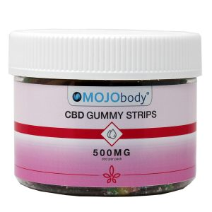 MOJObody CBD Gummy Strips