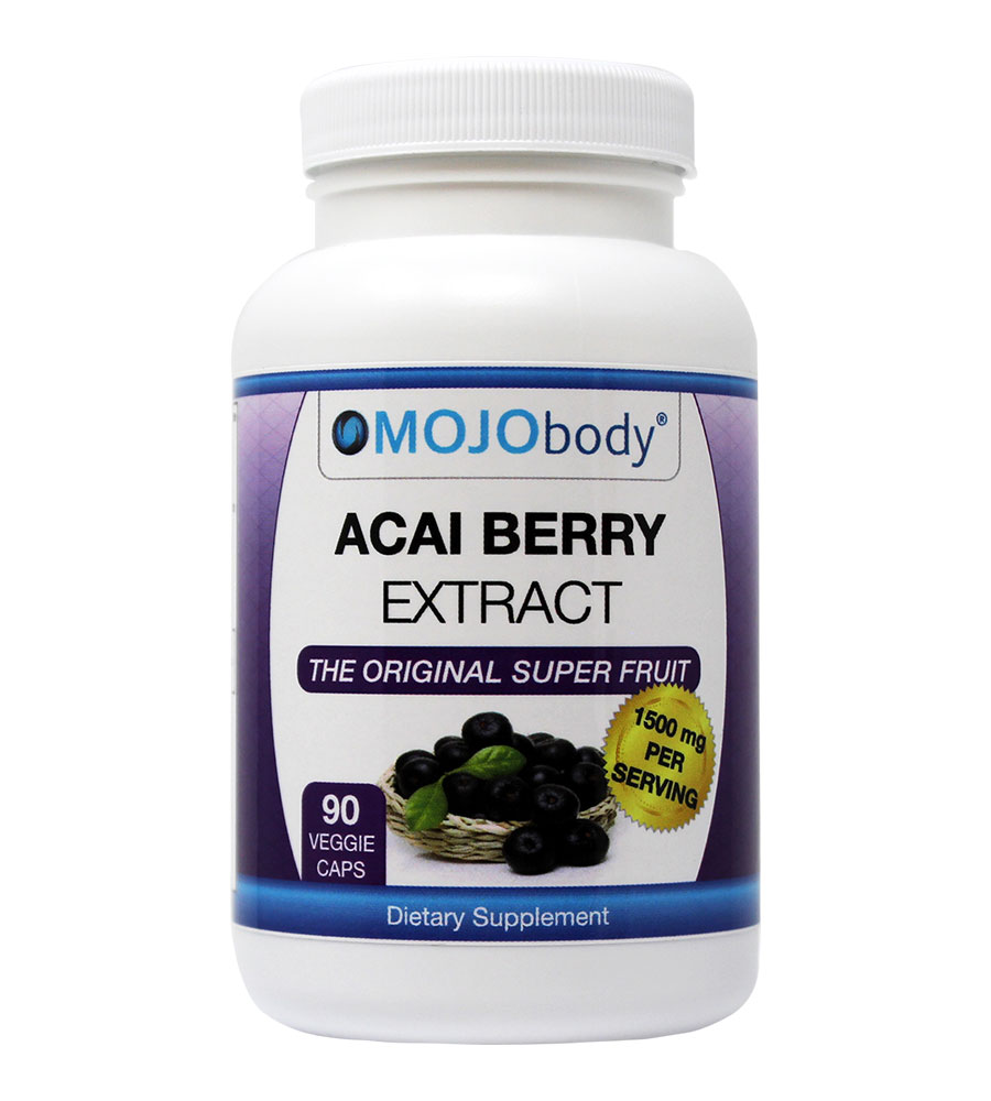 Acai Berry Extract, 1500mg 90 Capsules,The Original Super Fruit, Boost Energy, Helps with Weight Loss,Combats Free Radicals